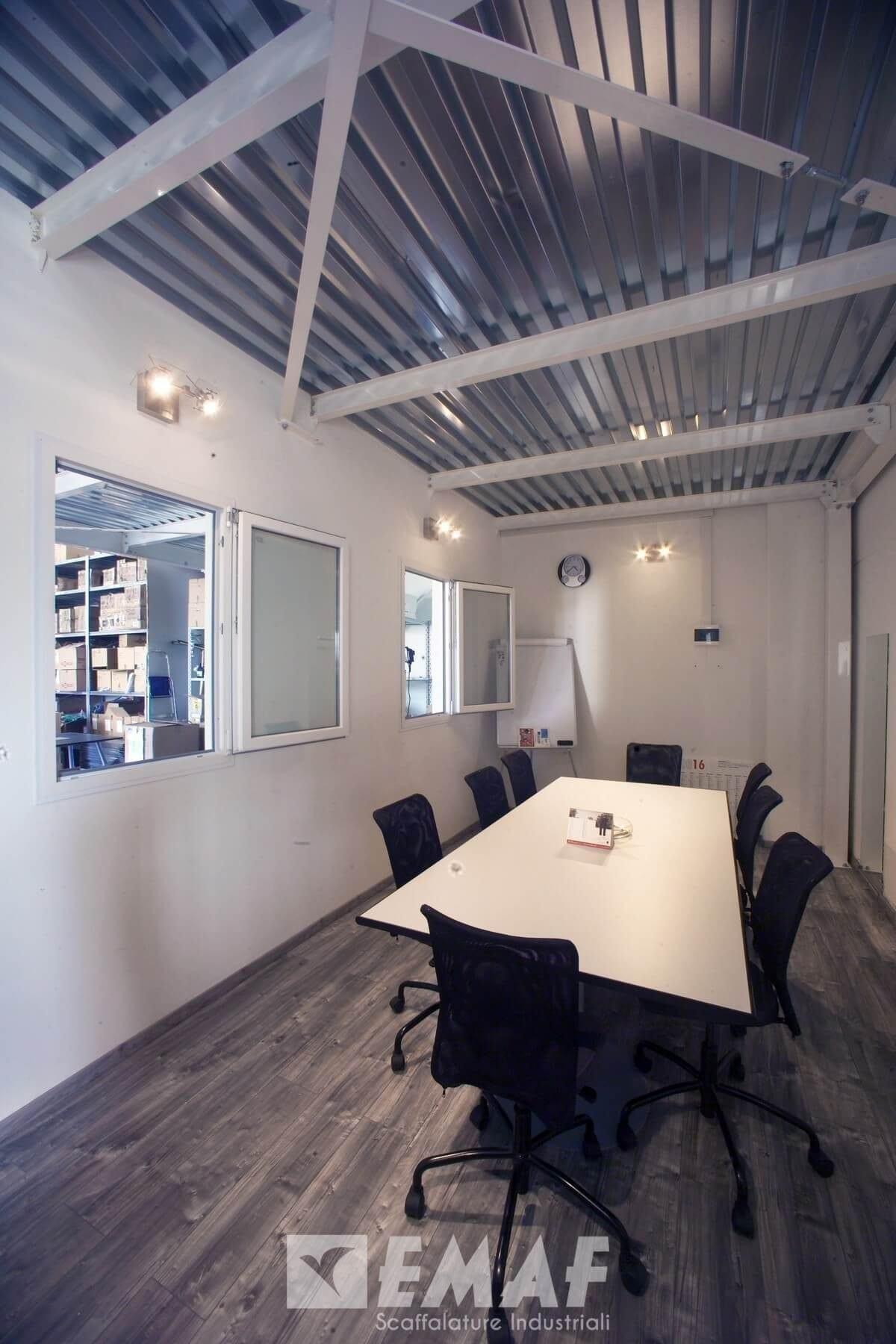 Costo Soppalco Al Mq soppalco industriale mod. palladio es300 da diciassette metri quadrati