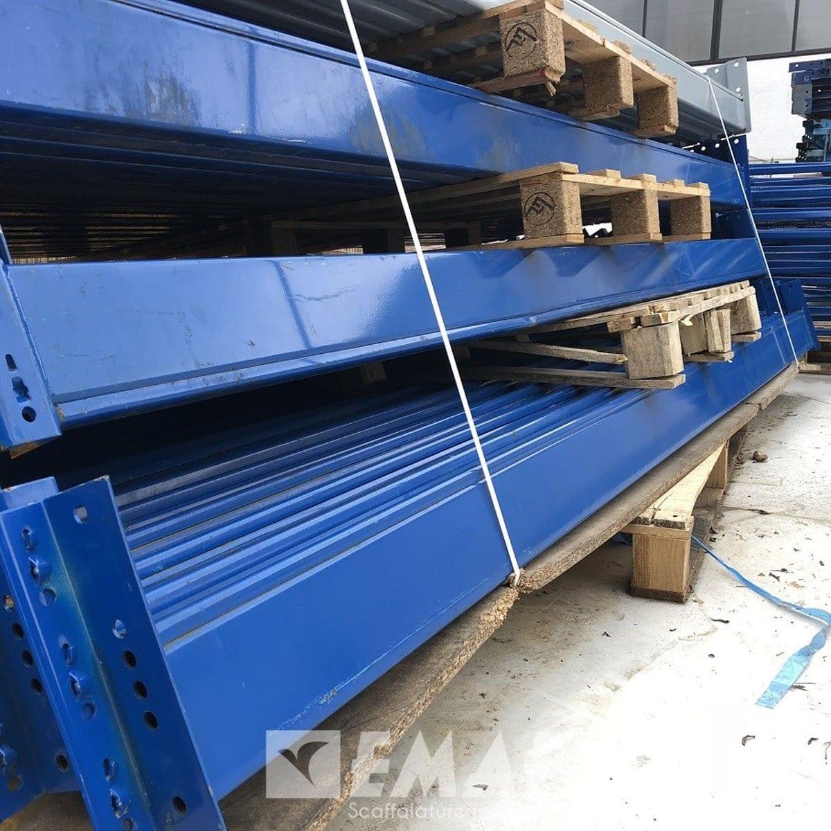 Scaffalature Metalliche Industriali Prezzi.Portapallet Usato Scaffalatura Industriale Usata Da 72 Bancali