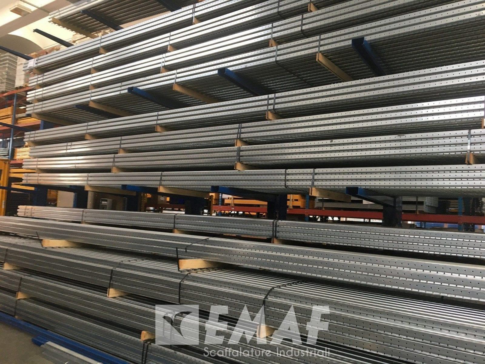 Scaffalature Per Pallets Usate.Portapallet Non Ritirata Scaffalatura Industriale Nuova Da 60 Bancali Epal