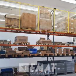 Pannelli di protezione in rete anticaduta installati a Pastrengo