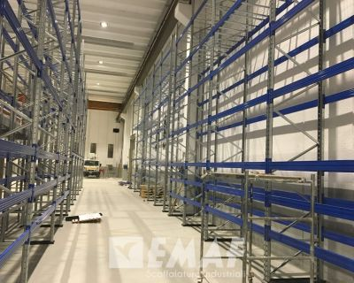 In quindici giorni un nuovo Porta Pallet per Adicomp s.r.l. ad Isola Vicentina (VI)