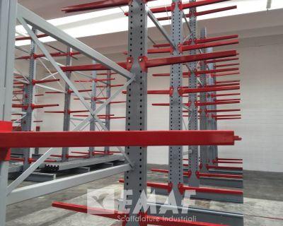 Cantilever a Trento per azienda leader degli impianti di refrigerazione